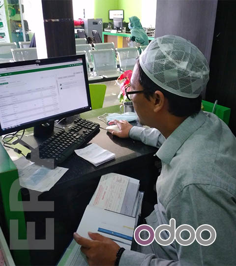Portofolio Odoo ERP di Perusahaan Travel Biro Jasa Haji dan Umroh